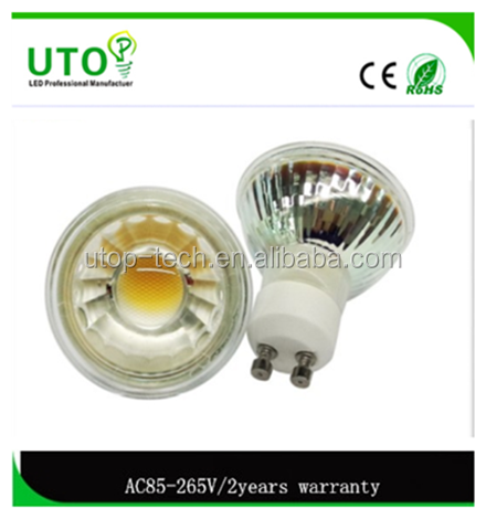 factory 12v led lights mr16 led spot light 3.3w 280lm plastic led spotlight mr16