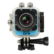 SCJAM M10 Wifi 2K Video Resolution Mini Action Camera 30M Diving Waterproof Camera 12MP 1080P Full-HD Sport DV