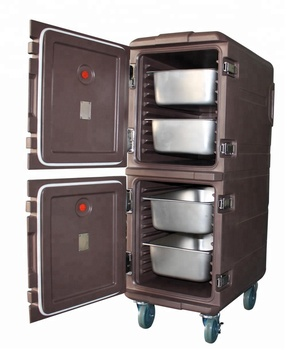 Insulated Food Warmer Cabinet Used For Hotel Restaurant