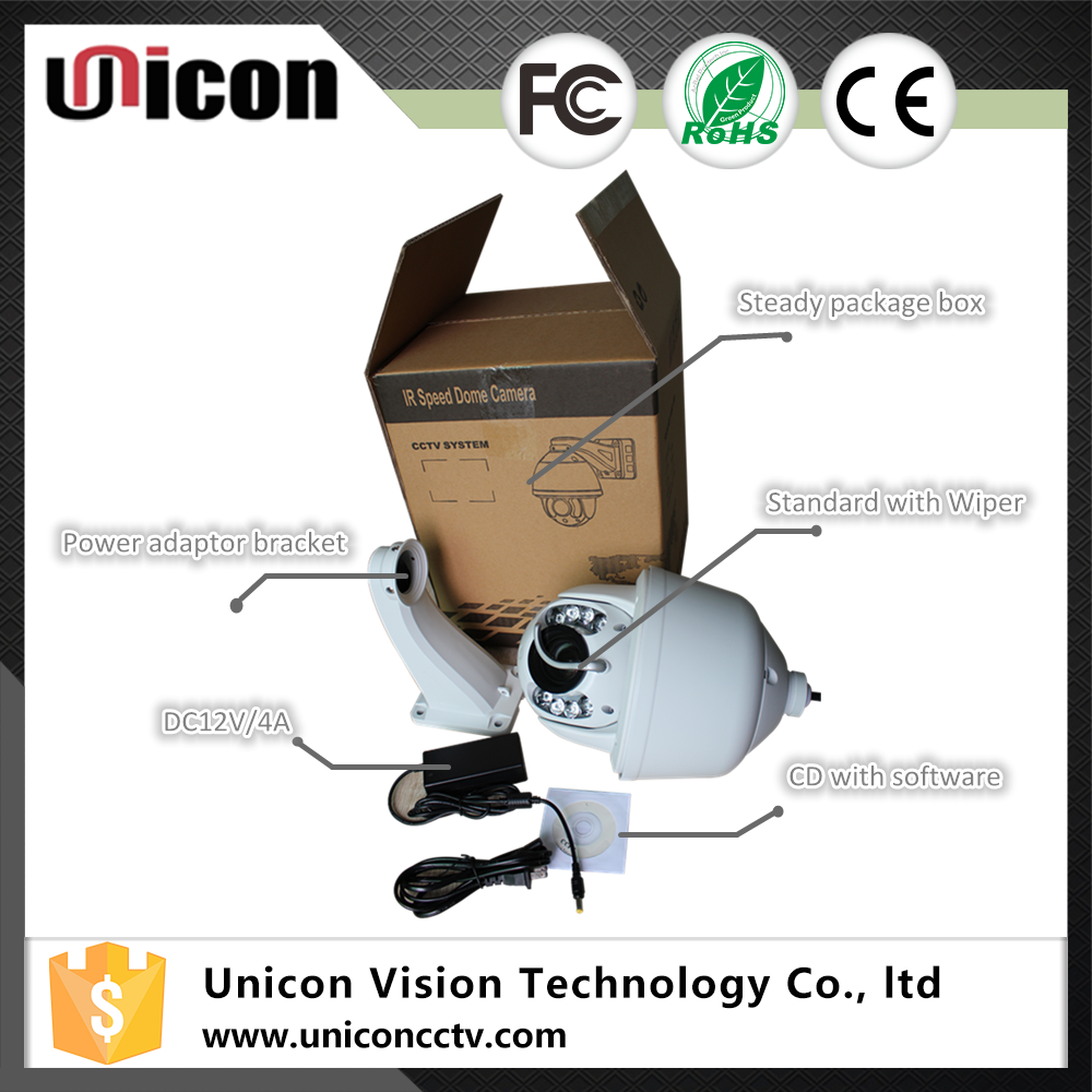 Unicon Vision 1.3 2 megapixel auto motion tracking ptz night vision ip camera with controller