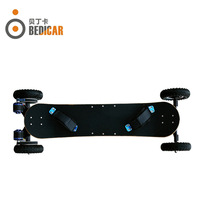 Hot Selling 4 wheel off road electric skateboard with high performance skate board electric