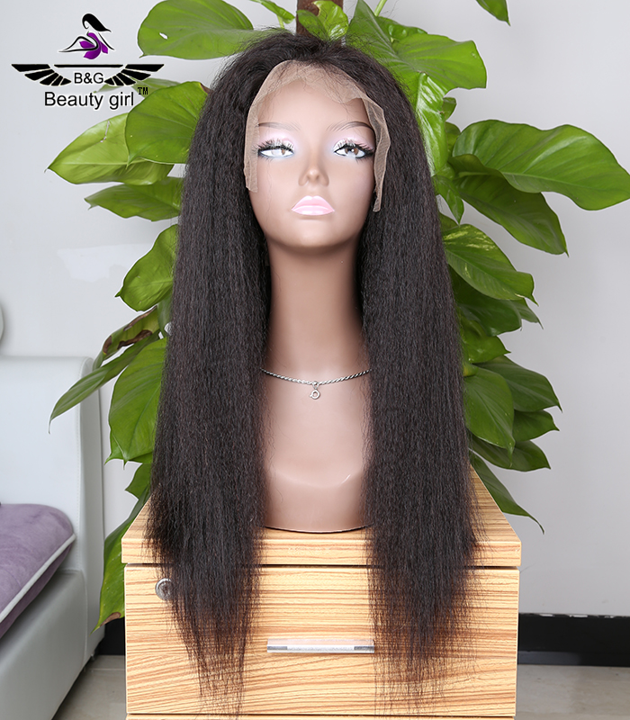 Hot Selling Raw Unprocessed Virgin Cheap 34 Inch Indian Hair Full Lace Wig