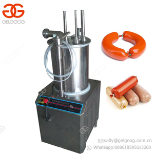 Best Price Antique Mini Tre Spade Making Sausage Stuffer Filling Machine Hydraulic Pressure Sausage Filler For Home