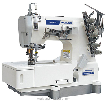 500-01CB Newly Cheap High-Speed Flat-bed Direct-Drive Interlock Industrial Sewing Machine