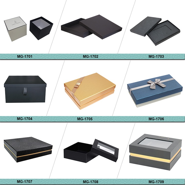 China Alibaba Golden Supplier Customized Popular Luxury Men's Wallet Paper Gift Box Packaging