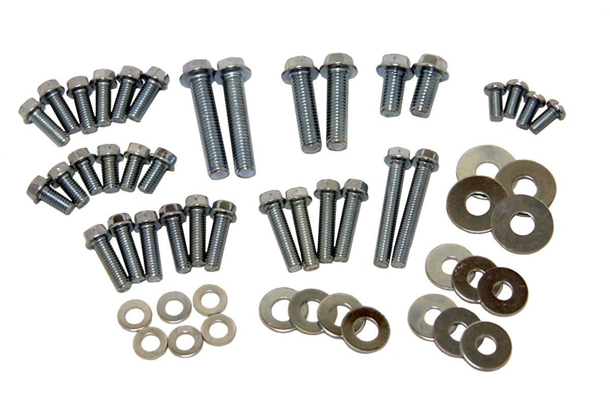 M6 /& M8 A2 Stainless Steel Hexagon Flange Bolts DIN 6921 Assorted Box Kit 110pc