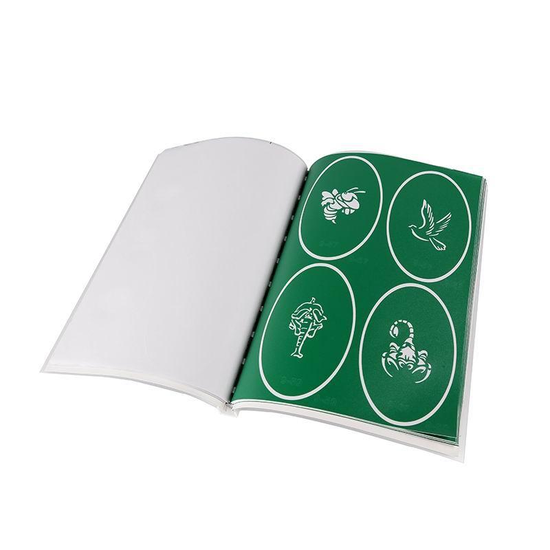Book 9 Latest fashion custom pattern reusable airbrush tattoo stencil