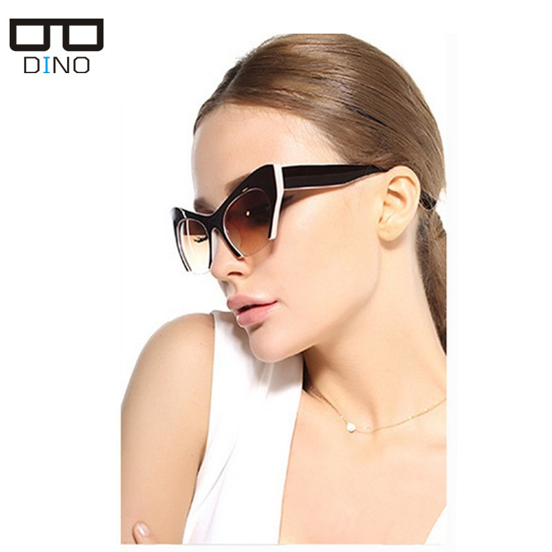 2015 Newest Sexy Brand Designer Vintage Cat Eye Sunglasses For Women Summer Polaroid Lens Polarized Points Sun Glasses Oculos