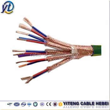 Copper Conductor/pvc (pe) Copper Wire Braid Multi Core Twisted Pair ...