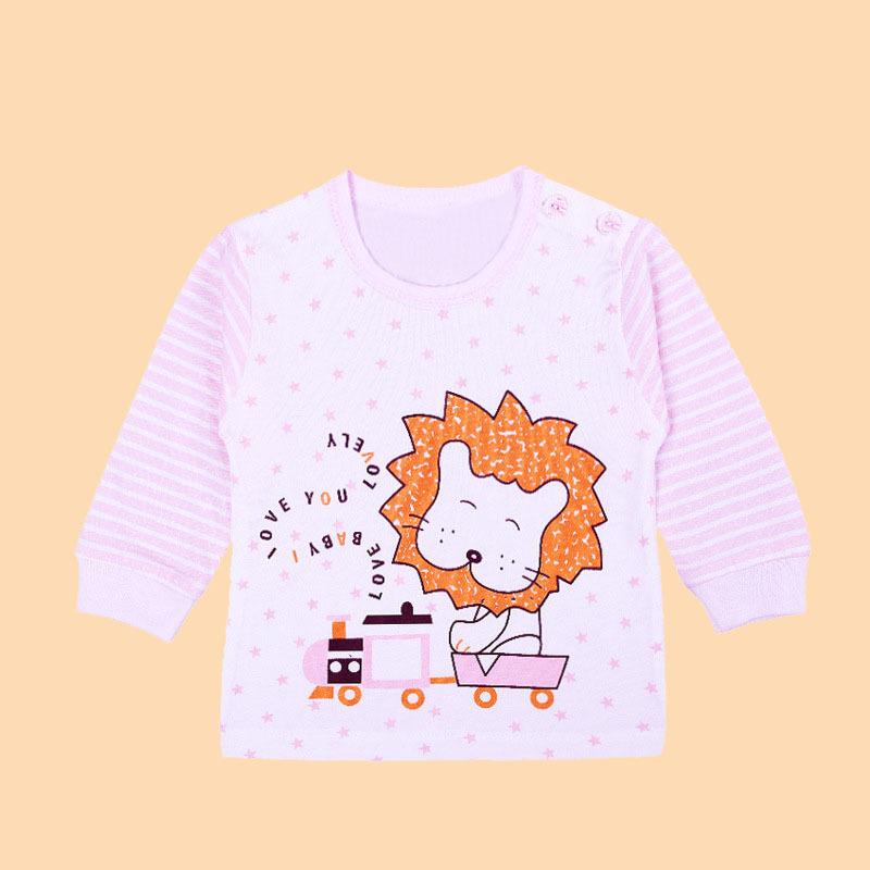 1 шт. / LOT 100% хлопок девочки тис топы дети футболки девочка длинный рукав футболки комикс блузка кролик милый