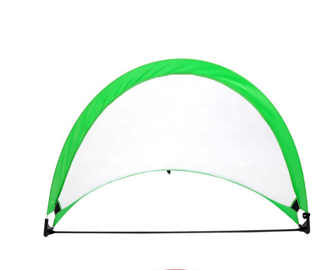 Franklin Sports Blackhawk Portable Soccer Goal/Pop Up Durable Target Shot Soccer Goals/Weather-Resistant Soccer Net Tent