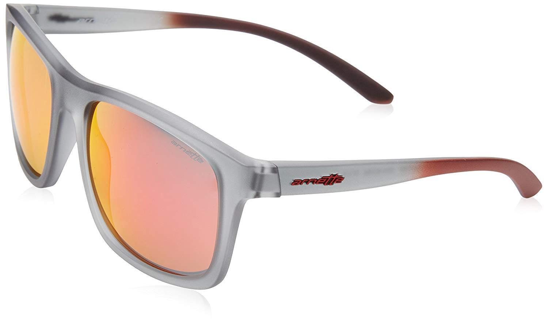 0b4c949c3f Get Quotations · Arnette COMPLEMENTARY AN4233-24236Q Sunglasses Matte  Transparent Grey 57mm