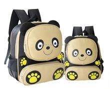 cute panda school backpack with cartoon design school bag for kids