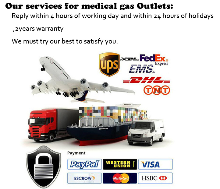 Medical Equipment Hospital Gas Terminal Gas Outlets
