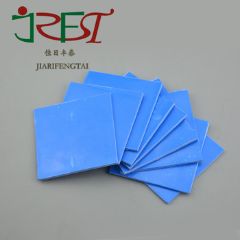 Customized High Temperature Low Hardness Silicone Rubber Adhesive  Insulation Cooling Thermally Conductive Silicone Gel Sheet - Buy Thermally