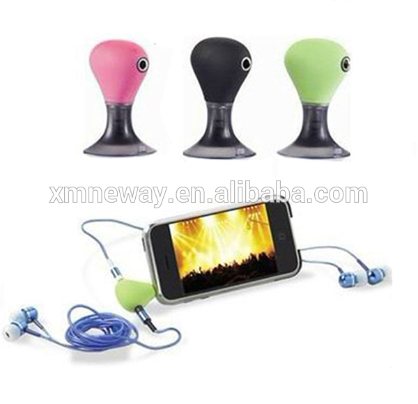 3.5mm Stereo Headphone Splitter with Silicone Suction Cup