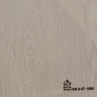 Wood grain vinyl film for window frames/ doors