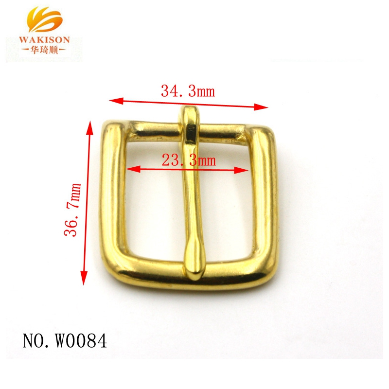 Over 20 years belt buckle factory experience wholesale solid brass buckle