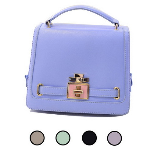 Get Quotations Fashion Classic Faux Leather Bags Cover Clasp Women Charm Short Design Top Handle Hard