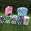 Mini Chevron Make-Up Cosmetic Bag Spa Bag Travel Case Chevron Cosmetic Bags With Various Colors DOMIL106068