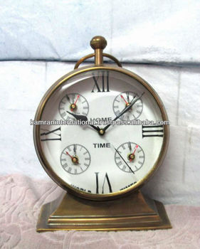 Nautical World Time Table Clock Desktop World Time Clock