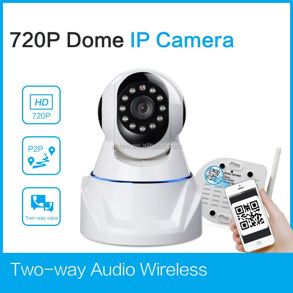 Rocam H.264 ip wireless surveillance camera infrared dome ip camera with micro sd card