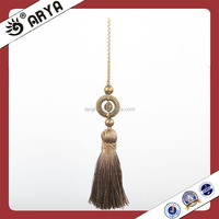 Wholesale High Quality Dark Green Mini Silk Tassels