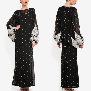 2018 Wholesale Arabic Women Long Dress Jubah Muslimah Woman Ethnic Clothing