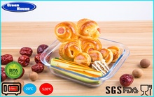 Hot Selling High Borosilicate Heat Resisting Glass Bakeware Manufacturer In China