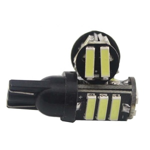 T10 W5W 194 / 921 7020 11SMD Led Light For Car Map Turn Signal light Side Marker 12v automotive Led