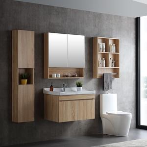Hot sale cheap plywood bathroom vanity/bathroom cabinet WTS001-80