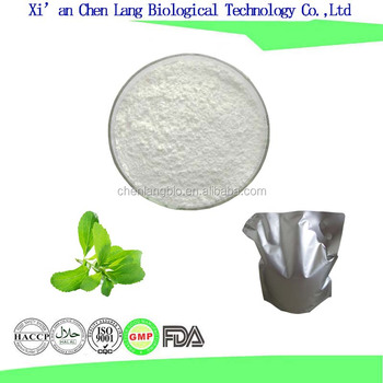 Food Grade Natural Sweetener White Powder Stevia Extract Stevioside 90% 95%