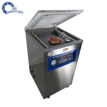 42a975037fa Used food nitrogen vacuum packaging machine for sale with double chamber