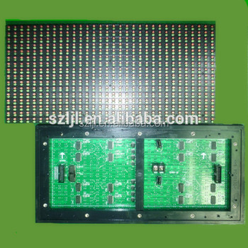 Super Bright P10 1632 Red Green Outdoor Led Display Module