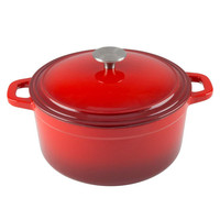 French Oven Enamel Cast Iron Round Casserole Cooking Pot Dutch Oven