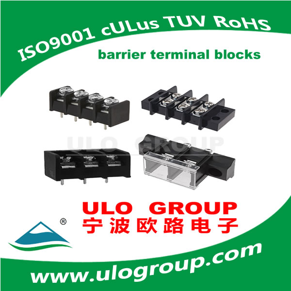 screw terminal block female terminal connector ULO Group