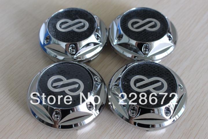 Free Shipping 68mm Abs Chrome Advan Enkei Wheel Center