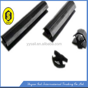 ECO-friendly strong force permanent Magnetic Rubber Sealing Strip, rubber magentic door seal,flexible rubber