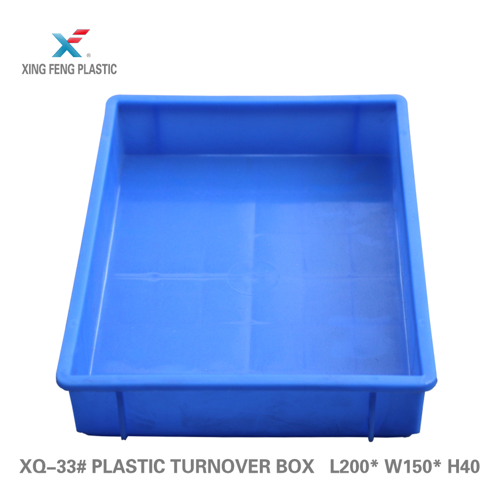 100% new pp containers straight wall stackable plastic storage boxes 200*150*40mm