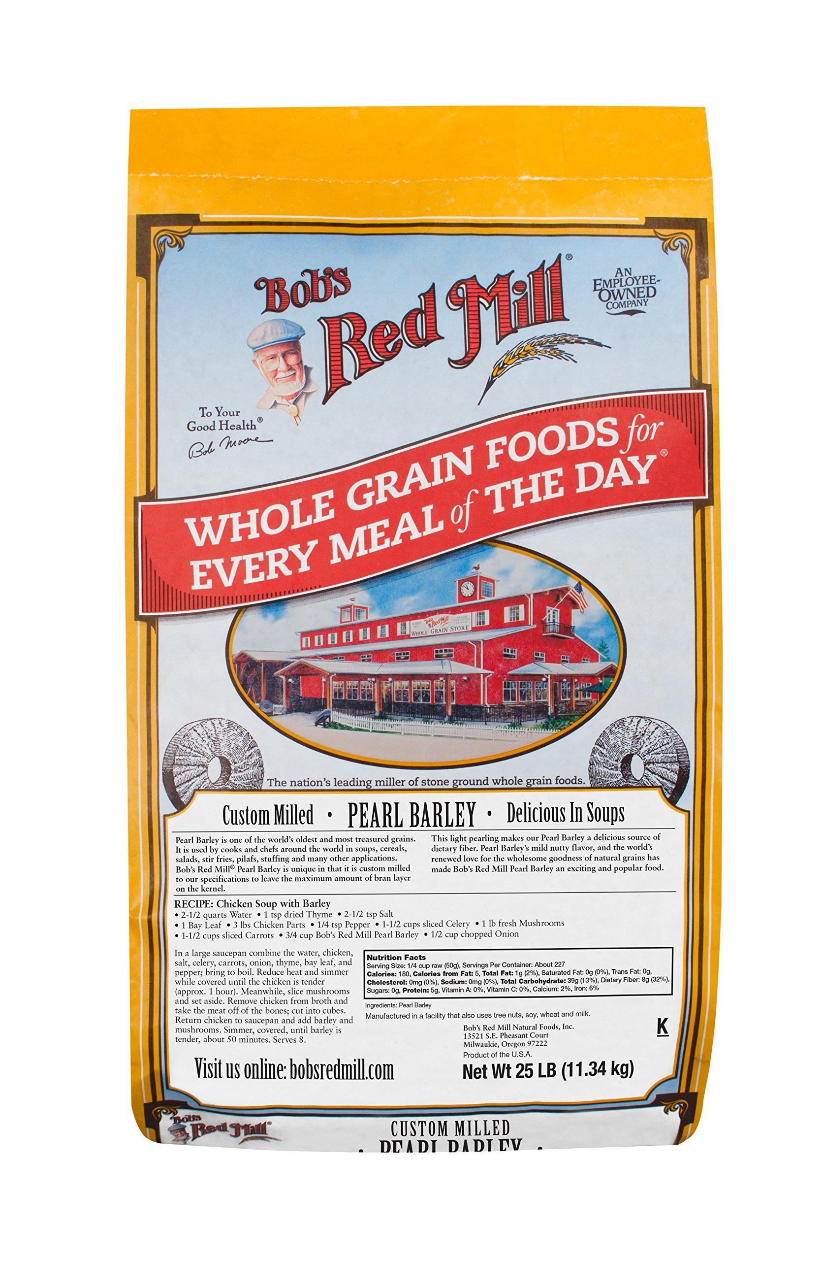 Bob's Red Mill Pearl Barley, 25 Pound