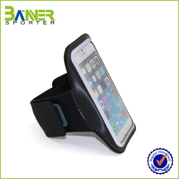 High Quality Custom LOGO Customized Color mobile phone arm bag pouch holder