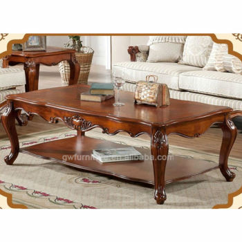 Hand Carved Classic Solid Wood Living Room Center Table Buy Living Room Coffee Table Living