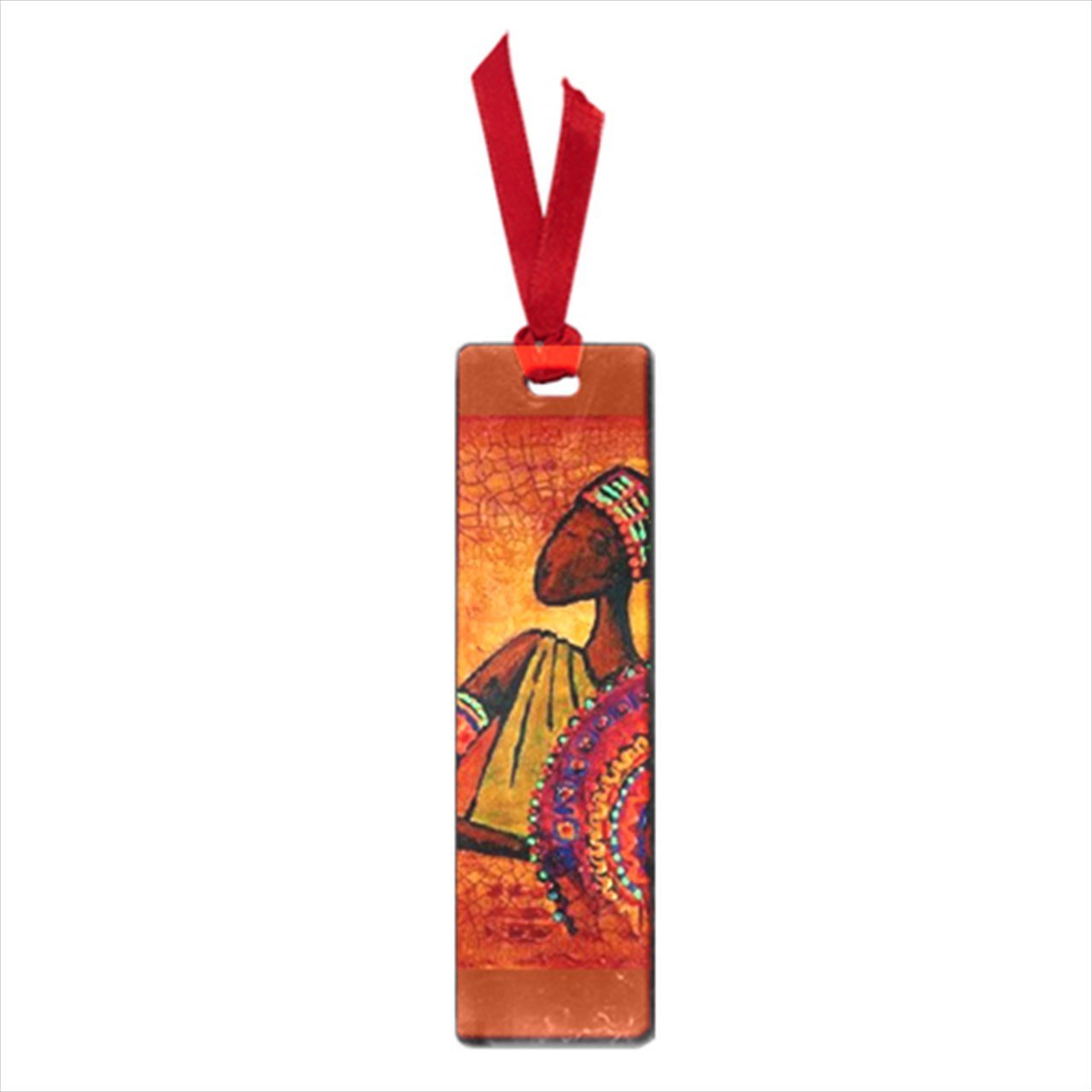 Trending African Art Man And Woman Small Cute Book Mark