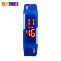 Unisex Slim Silicone Rubber Band Led Sport Watches 2015