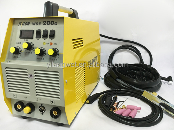 Multifunctional Rilon inverter hk tig 200 welding machine in AC/ DC