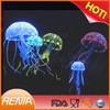 RENJIA silicone artificial jellyfish for fish tank glowing jellyfish for sale inflatable decorating jellyfish balloon