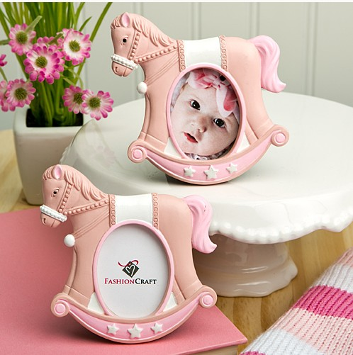 2014 New products! ink rocking horse place card/photo frames wedding place card holder .baby photo frames
