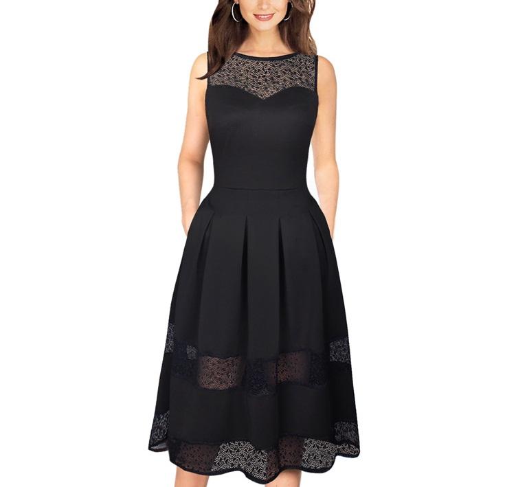 d0872a992 مصادر شركات تصنيع فستان الدانتيل الأسود الطرف وفستان الدانتيل الأسود الطرف  في Alibaba.com