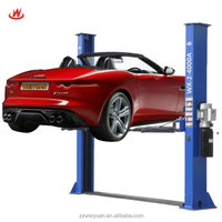 Two Post Design and Double Cylinder Hydraulic Lift Type 2 post 4 ton car lift WX-2-4000A