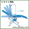 Light Foldable Dentist Chair for Jungle Treatment in Peru